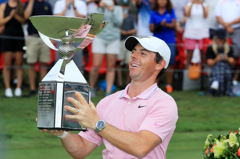 Lightning strikes twice for Rory McIlroy