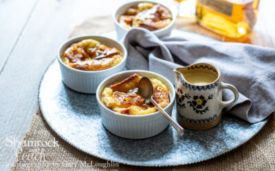 Orange Marmalade Bread Pudding with a Wee bit of Whiskey Sauce