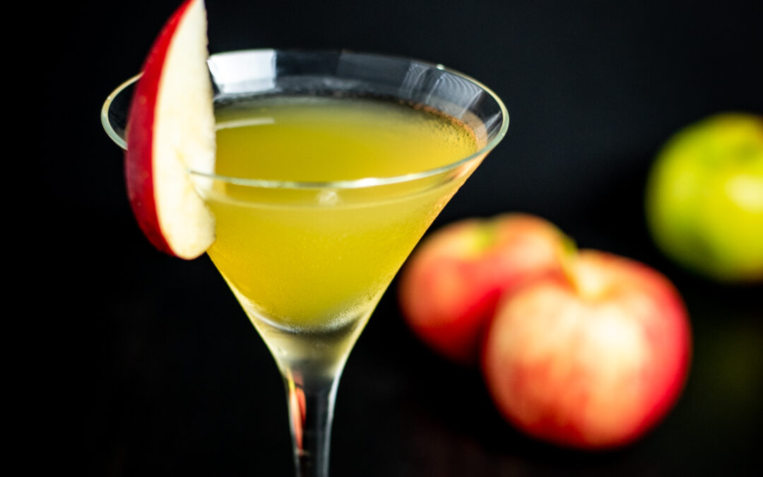 Apple Pie in a Martini Glass