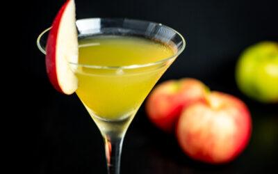 Apple Pie in a Martini Glass